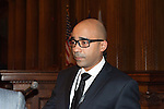 January 11, 2012 - Brooklyn, New York, USA: Consul General of Haiti, Charles A. Forbin, speaks at 2nd Annual Interfaith Memorial Service for Haiti, Wednesday night at Brooklyn Borough Hall. The service was held two years after the Mw 7.0 earthquake at Haiti.