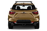 Straight rear view of 2019 Chevrolet Blazer RS 5 Door SUV Rear View  stock images