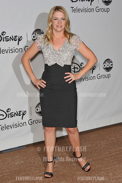 "Melissa Joan Hart - star of ""Melissa & Joey"" - at the Disney ABC TV All Star Mixer at the Beverly Hilton Hotel, Beverly Hills, CA..August 1, 2010  Los Angeles, CA.Picture: Paul Smith / Featureflash"