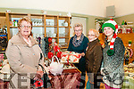 Seanchai Craft Fair : Noreen Buckley, Ella O'Sullivan, Mary Boyer & Kelly St John  attending  the craft fair in the Seanchai Centre , Listowel as part of the Listowel Food fair.