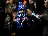 Ipswich fans celebrate their teams second goal <br /> <br /> Photographer Hannah Fountain/CameraSport<br /> <br /> The EFL Sky Bet League One - Ipswich Town v Accrington Stanley - Saturday 11th January 2020 - Portman Road - Ipswich<br /> <br /> World Copyright © 2020 CameraSport. All rights reserved. 43 Linden Ave. Countesthorpe. Leicester. England. LE8 5PG - Tel: +44 (0) 116 277 4147 - admin@camerasport.com - www.camerasport.com