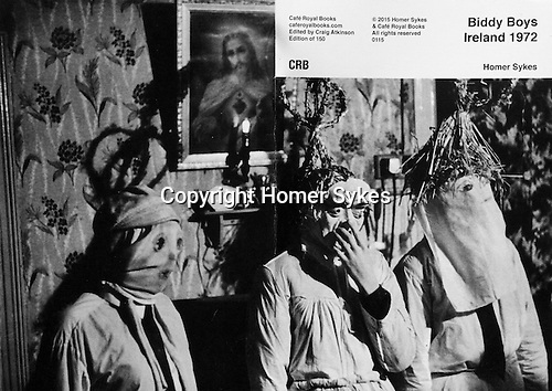 Biddy Boys Ireland 1972.<br /> <br /> PhotoZine published by Cafe Royal Books. Edition of 150. All book shop copies  sold out. I have a FEW COPIES LEFT. Published in 2015. 36 pages, staple bound, A5.<br /> <br /> &pound;15-00 including p&amp;p in UK.