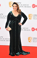 Lisa Riley at the Virgin TV British Academy (BAFTA) Television Awards 2018, Royal Festival Hall, Belvedere Road, London, England, UK, on Sunday 13 May 2018.<br /> CAP/CAN<br /> &copy;CAN/Capital Pictures