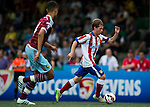 West Ham United vs Atletico de Madrid during their Main Cup Final match as part of day three of the HKFC Citibank Soccer Sevens 2015 on May 31, 2015 at the Hong Kong Football Club in Hong Kong, China. Photo by Xaume Olleros / Power Sport Images