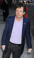 """Michael J. Fox arrives at """"The Late Show"""" - New York"""