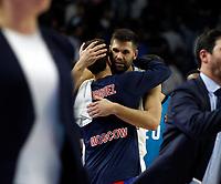 2017.10.19 EuroLeague Real Madrid Baloncesto VS CSKA Moscu