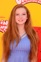 "LOS ANGELES - MAY 21:  Francesca Capaldi at the ""Captain Underpants"" Los Angeles Premiere at the Village Theater on May 21, 2017 in Westwood, CA"