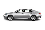Car Driver side profile view of a 2017 Lexus ES 350 4 Door Sedan 2WD Side View