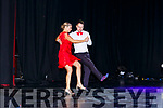 Joanne Murphy and Sean O'Riordan dancing at the Rathmore Strictly Come Dancing event in the INEC on Saturday night.