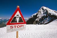 auf dem Jungfraujoch, Berner Oberland, Schweiz, Unesco-Weltkulturerbe