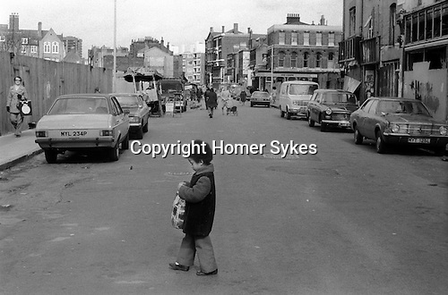 Hoxton Street Market east London UK 1978.<br />