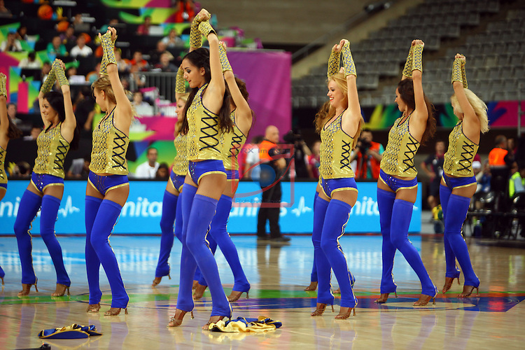 2014 FIBA Basketball World Cup-Round of 16.<br /> New Zealand vs Lithuania: 71-76.<br /> Khimki Dancers.