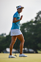 Lexi Thompson (USA) after sinking her putt on 18 during round 4 of the 2019 US Women's Open, Charleston Country Club, Charleston, South Carolina,  USA. 6/2/2019.<br /> Picture: Golffile | Ken Murray<br /> <br /> All photo usage must carry mandatory copyright credit (© Golffile | Ken Murray)