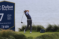 Padraig Harrington (IRL) tees off the 7th tee during Thursday's Round 1 of the Dubai Duty Free Irish Open 2019, held at Lahinch Golf Club, Lahinch, Ireland. 4th July 2019.<br /> Picture: Eoin Clarke | Golffile<br /> <br /> <br /> All photos usage must carry mandatory copyright credit (© Golffile | Eoin Clarke)