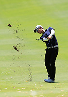 Jazz Janewattananond (THA) in action on the 1st during Round 1 of the ISPS Handa World Super 6 Perth at Lake Karrinyup Country Club on the Thursday 8th February 2018.<br /> Picture:  Thos Caffrey / www.golffile.ie<br /> <br /> All photo usage must carry mandatory copyright credit (&copy; Golffile | Thos Caffrey)