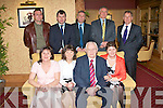 80TH BIRTHDAY: James Walsh, Kilelton, Ballylongford enjoying a great time celebrating his 80th birthday with family and friends at Meadowlands hotel on Friday seated l-r: Marie Costello, Noreen O'Sullivan, James Walsh and Catherine Flanagan. Back l-r: Eamon, Sean, Jerry, Patsy and Michael Walsh.