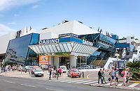 France, Provence-Alpes-Côte d'Azur, Cannes: festival hall Palais des Festivals et des Congrès | Frankreich, Provence-Alpes-Côte d'Azur, Cannes: das Festspielhaus Palais des Festivals et des Congrès