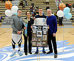 3-5-15, Skyline High School vs Warren Woods Tower, Senior Night, Boy's Basketball