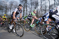 Fabian Cancellara (CHE/TrekFactoryRacing) up La Houppe<br /> <br /> 57th E3 Harelbeke 2014