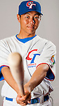 Lin, Yi-Chuan of Team Chinese Taipei poses during WBC Photo Day on February 25, 2013 in Taichung, Taiwan. Photo by Victor Fraile / The Power of Sport Images