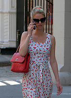WWW.ACEPIXS.COM<br /> <br /> April 11, 2017 New York City<br /> <br /> Fashion designer Nicky Hilton glued to her cell as she srolls the streets of Manhattan on April 11 2017 in New York City.<br /> <br /> <br /> <br /> Please byline: Curtis Means/ACE Pictures<br /> <br /> ACE Pictures, Inc.<br /> www.acepixs.com, Email: info@acepixs.com<br /> Tel: 646 769 0430