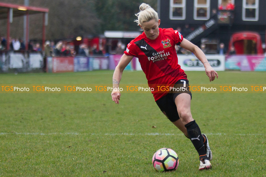 Ellie Gilliat (Sheffield) during Sheffield FC Ladies vs Doncaster Rovers Belles, SSE Women's FA Cup Football at the Coach and Horses Ground on 19th February 2017