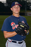Thomas Berryhill #23 of the Danville Braves at Pioneer Park June 28, 2009 in Greeneville, Tennessee. (Photo by Brian Westerholt / Four Seam Images)