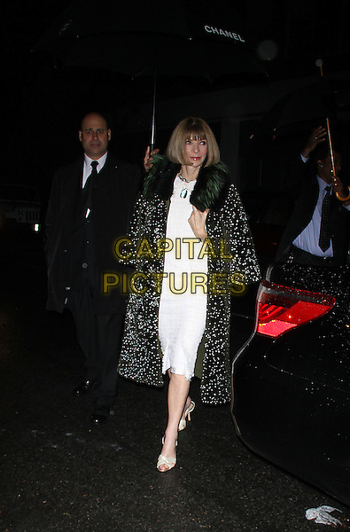 October 13, 2014: Anna Wintour at the screening of No5 at Dia Art Foundation Chelsea in New York.  <br /> CAP/MPI/RW<br /> &copy;RW/ MediaPunch/Capital Pictures