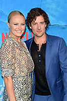 "LOS ANGELES, USA. October 17, 2019: Malin Akerman & Jack Donnelly at the premiere of ""Living With Yourself"" at the Arclight Theatre, Hollywood.<br /> Picture: Paul Smith/Featureflash"