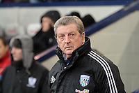Pictured: Roy Hodgson, manage for West Bromwich Albion. Saturday, 04 February 2012<br />