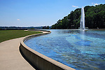 Water Fountain and Reflecting Pool, Eden Park, Cincinnati, Ohio, USA