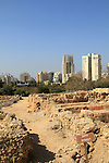 Tel Aviv-Yafo, remains of the Philistine residential and industrial quarter in Tel Qasile