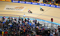 Picture by SWpix.com - 01/03/2018 - Cycling - 2018 UCI Track Cycling World Championships, Day 2 - Omnisport, Apeldoorn, Netherlands - Santini branding