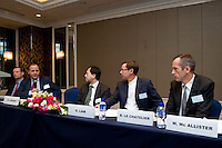 HSBC Session 'How Finance Should Adapt to the New Economic Deal between China and Europe' at Shanghai / Paris Europlace Financial Forum, in Shanghai, China, on December 1, 2010. Photo by Lucas Schifres/Pictobank
