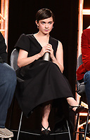 """PASADENA, CA - JANUARY 9: Cast member Cailee Spaeny attends the panel for """"Devs"""" during the FX Networks presentation at the 2020 TCA Winter Press Tour at the Langham Huntington on January 9, 2020 in Pasadena, California. (Photo by Frank Micelotta/FX Networks/PictureGroup)"""