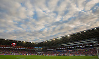 General view during the FIFA World Cup Qualifier match between Wales and Georgia at the Cardiff City Stadium, Cardiff, Wales on 9 October 2016. Photo by Mark  Hawkins / PRiME Media Images.