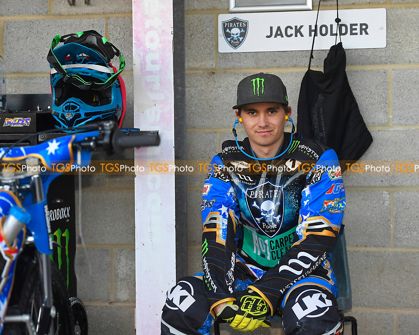 Jack Holder of Poole Pirates during Poole Pirates vs King's Lynn Stars, SGB Premiership Shield Speedway at The Stadium on 11th April 2019