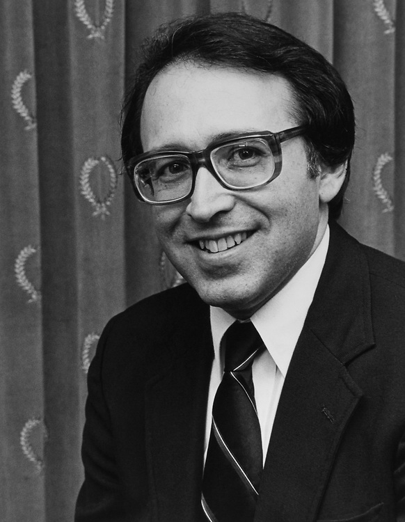 Portrait of Rep. Howard Wolpe, D-Mich., on Aug. 18, 1983. (Photo by CQ Roll Call)