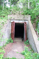Jewell Island Military Reservation, Casco Bay off the Coast of Portland Maine. WWII installations.