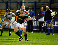 Photo: Richard Lane/Richard Lane Photography. England U20 v South Africa U20. Semi Final. 18/06/2008. South Africa's Henri Bantjes passes.