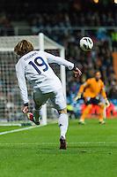 Luka Modric aerial cross
