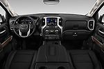 Stock photo of straight dashboard view of a 2019 GMC Sierra 1500 Denali Base 4 Door Pick Up