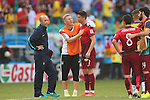 (L to R) <br /> Bastian Schweinsteiger (GER), <br /> Cristiano Ronaldo (POR), <br /> JUNE 16, 2014 - Football /Soccer : <br /> 2014 FIFA World Cup Brazil <br /> Group Match -Group G- <br /> between  Germany 4-0 Portugal <br /> at Arena Fonte Nova, Salvador, Brazil. <br /> (Photo by YUTAKA/AFLO SPORT)
