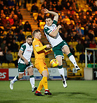 29.03.2019 Livingston v Hibs: Paul Hanlon and Alan Lithgow