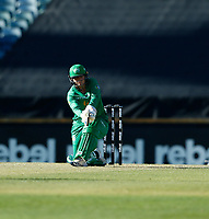 2nd November 2019; Western Australia Cricket Association Ground, Perth, Western Australia, Australia; Womens Big Bash League Cricket, Perth Scorchers versus Melbourne Stars; Lizelle Lee of the Melbourne Stars sweeps the ball during her innings - Editorial Use