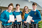 On Tuesday morning students of Mercy Mounthawk Secondary School launch the schools monster bingo for Sunday 28th February 2016 l-r:Makayla Chester, Thomas O'Sullivan,Charlotte Murphy and Brendan Walsh.