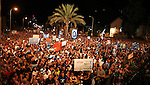 Israel social protest Aug 6