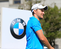 Max Kieffer (GER) on the 10th tee during Tuesday's Pro-Am Day of the 2014 BMW Masters held at Lake Malaren, Shanghai, China 28th October 2014.<br /> Picture: Eoin Clarke www.golffile.ie
