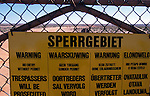 The Sperrgebiet. The Diamond region on the Diamond coast  of the Namib Naukluft desert. This area is owned by De Beers and is completely restricted. It is said that diamonds can be found lying around on the surface of the ground.
