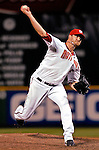 19 May 2007: Washington Nationals pitcher Jon Rauch in action against the Baltimore Orioles at RFK Stadium in Washington, DC. The Orioles defeated the Nationals 3-2 in the second game of the 3-game interleague series...Mandatory Photo Credit: Ed Wolfstein Photo